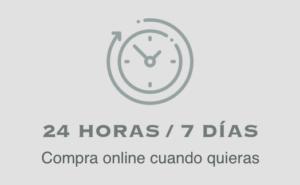 24 horas / 7 días